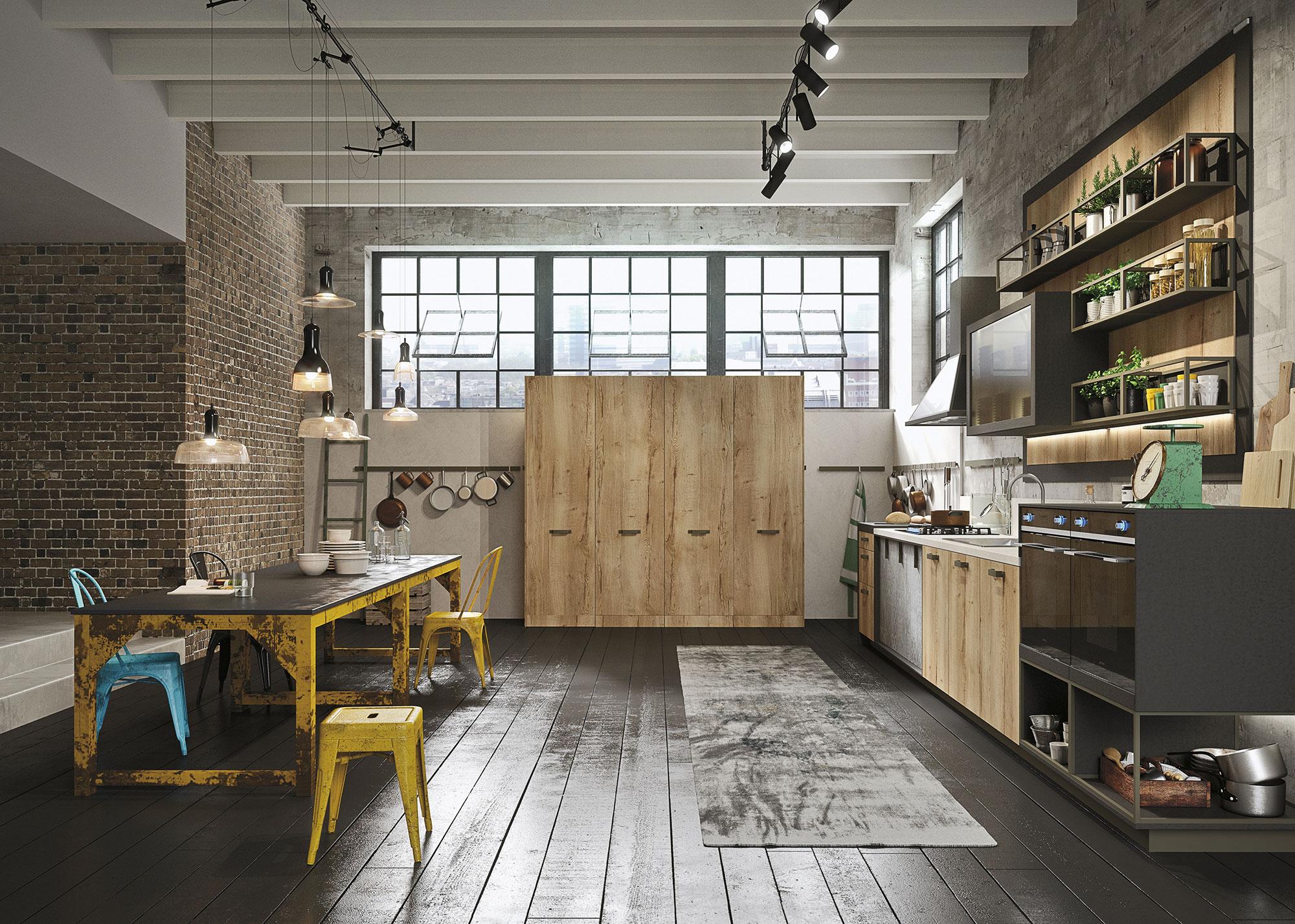 cucine-in-legno-design-loft-snaidero-dettaglio-1