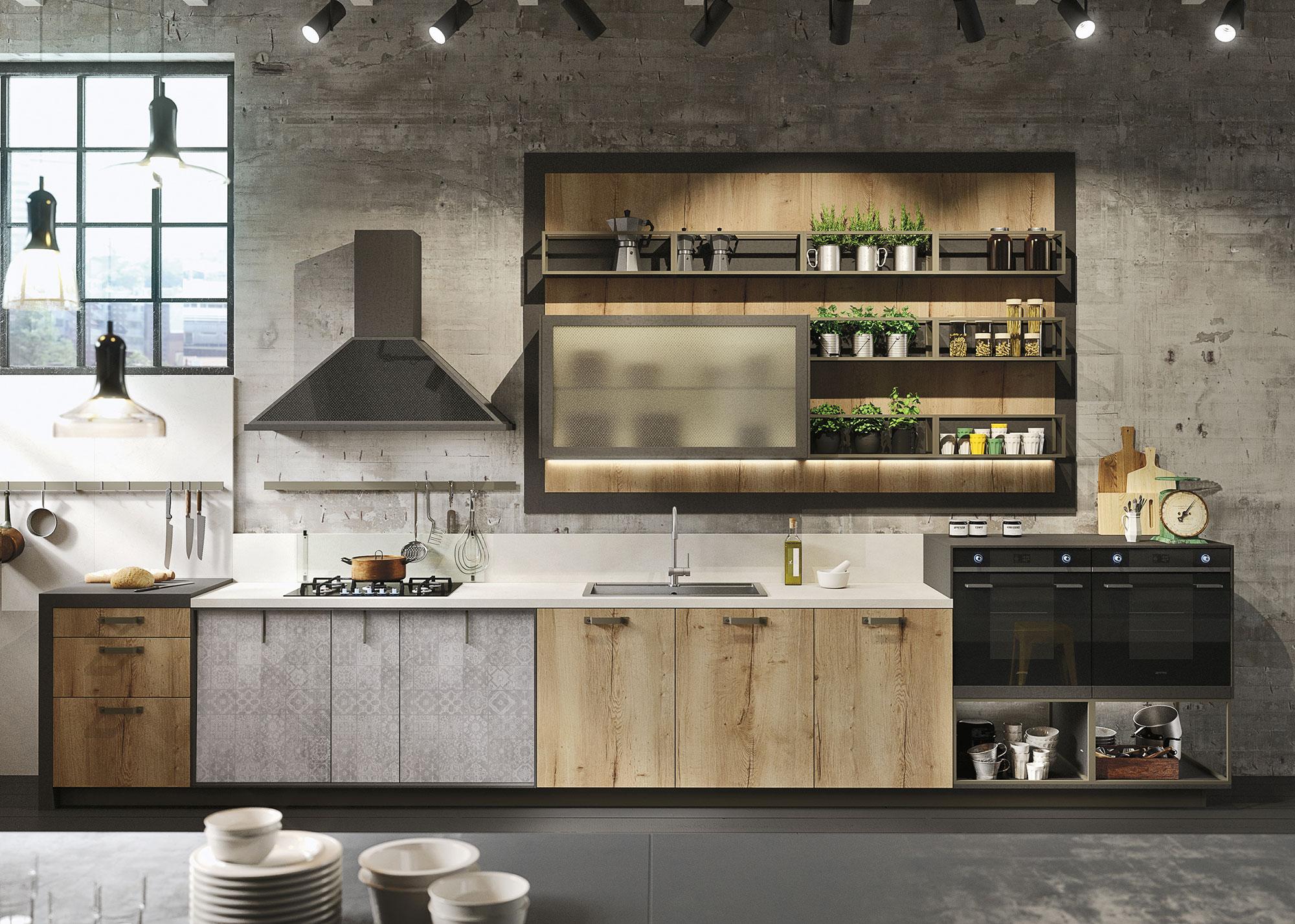 cucine-in-legno-design-loft-snaidero-dettaglio-2