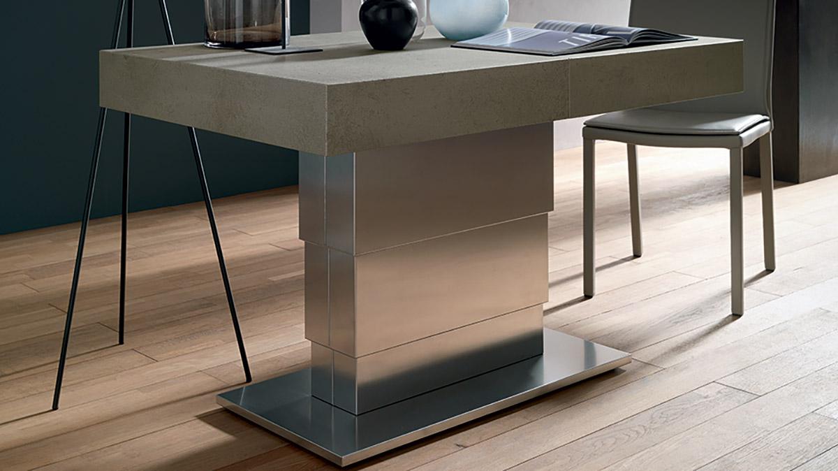 tavolo-trasformabile-Ares-Mega-base-metallo-2